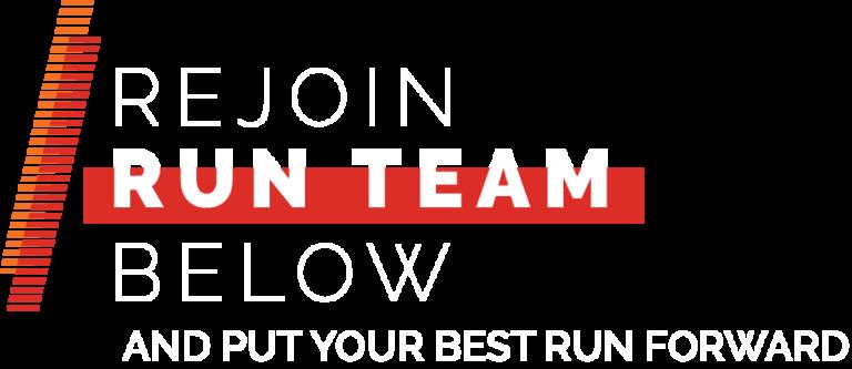 rejoin run team mcmillan running